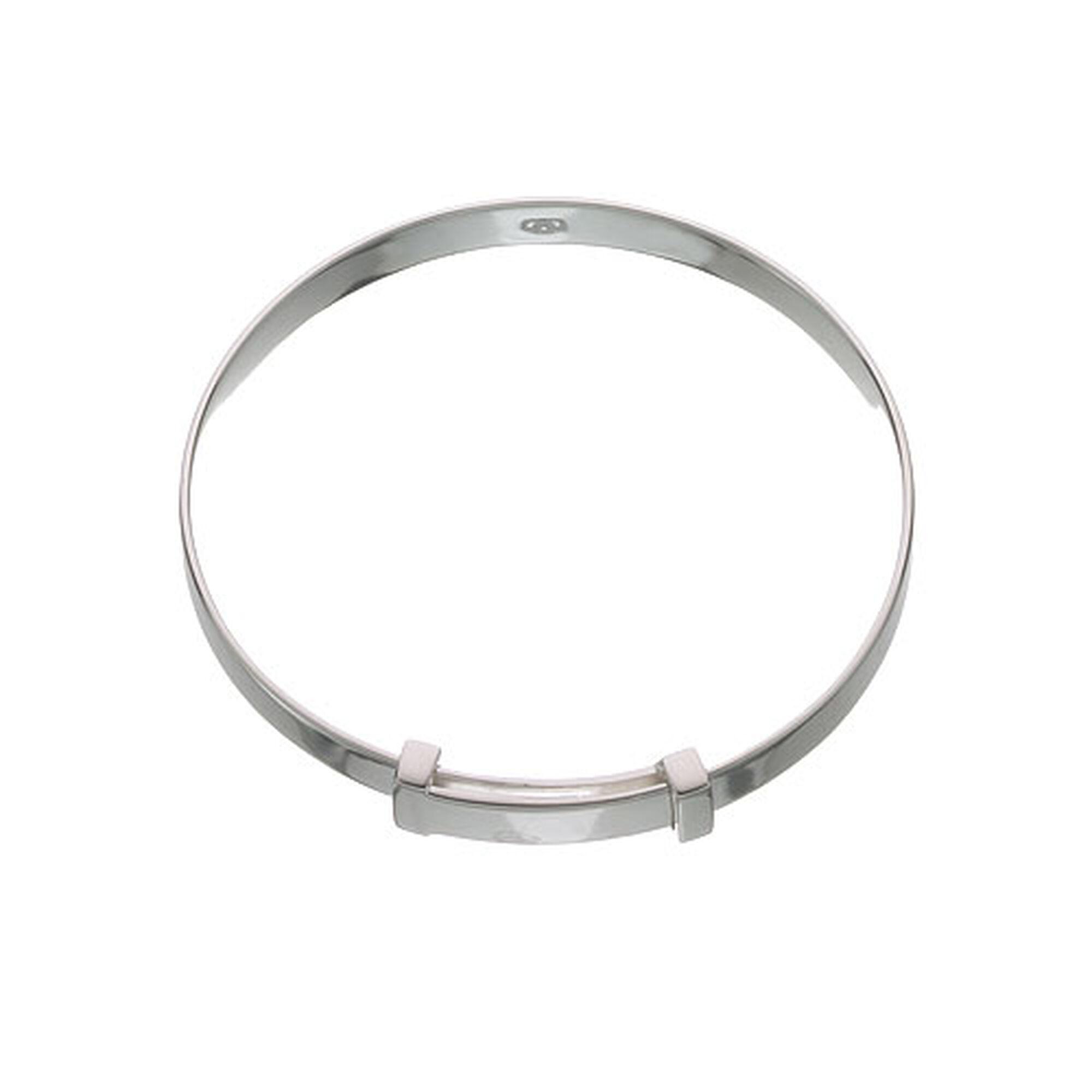 Silver Baby Expandable Classic Bracelet
