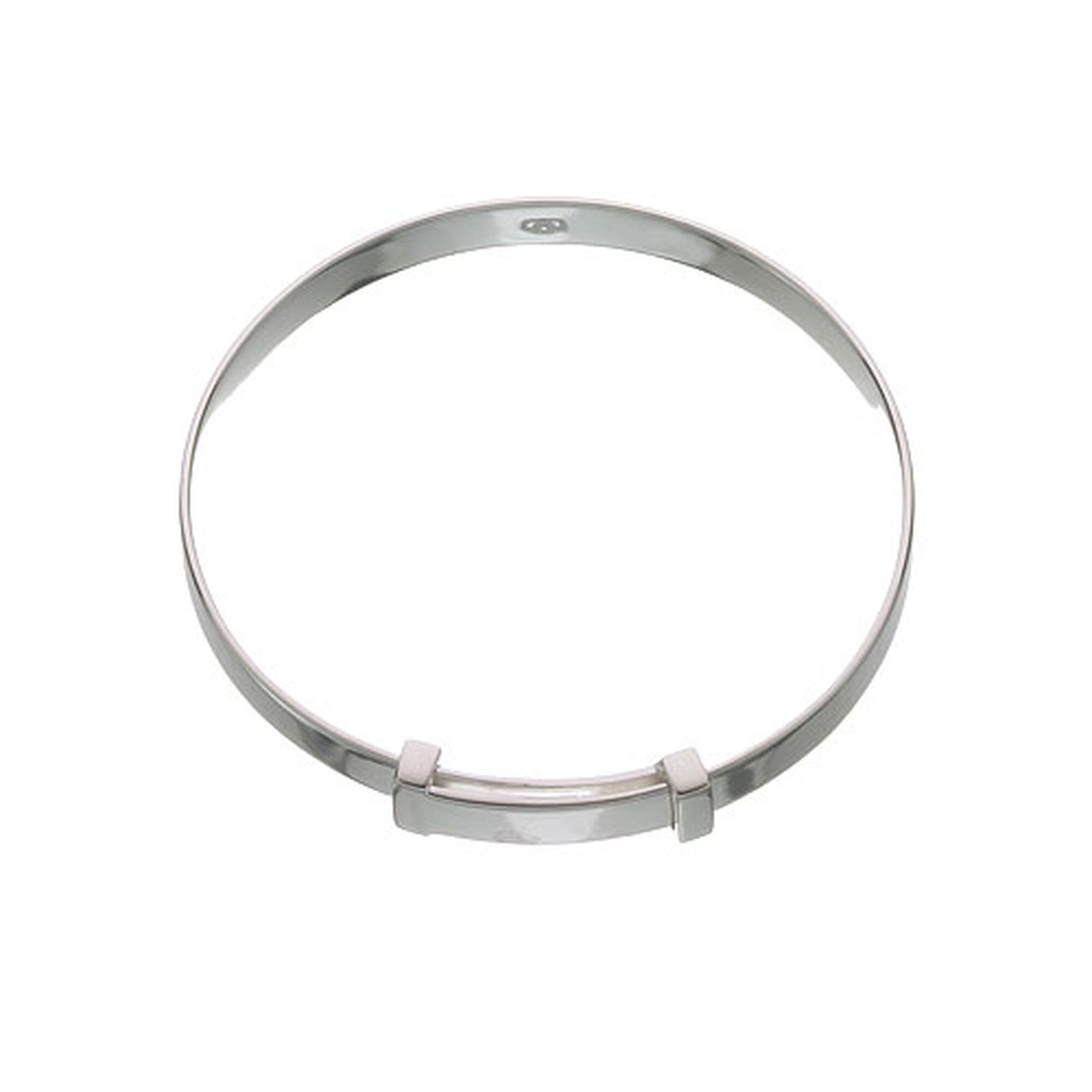 a silver ball fit simple bracelet plain circle and bangle this amazing features open cuff closure sterling an allows design wrap for bracelets products stylish pc ended details modern perfect bangles