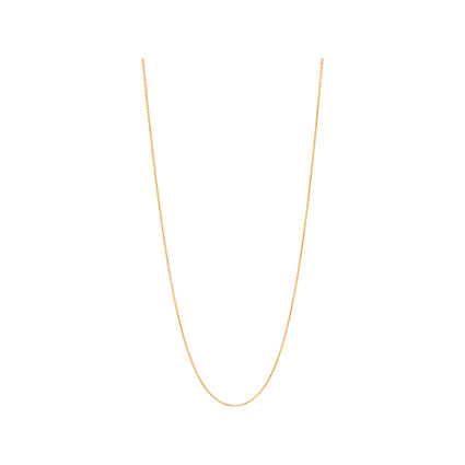Essentials Yellow Gold Vermeil 1.2mm Cable Chain 60cm, , hires