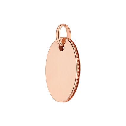 Narrative 18kt Rose Gold Vermeil Small Oval Disc Pendant, , hires