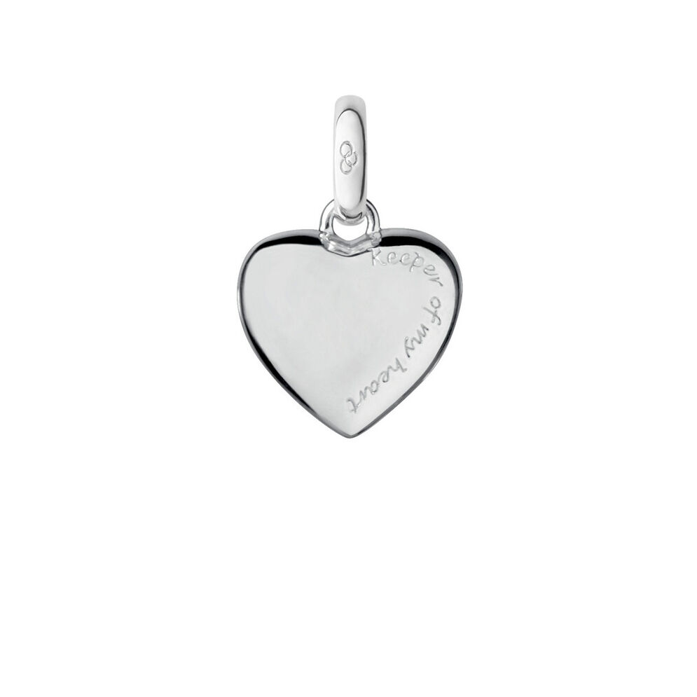 Cage Heart Bi-Metal Charm, , hires
