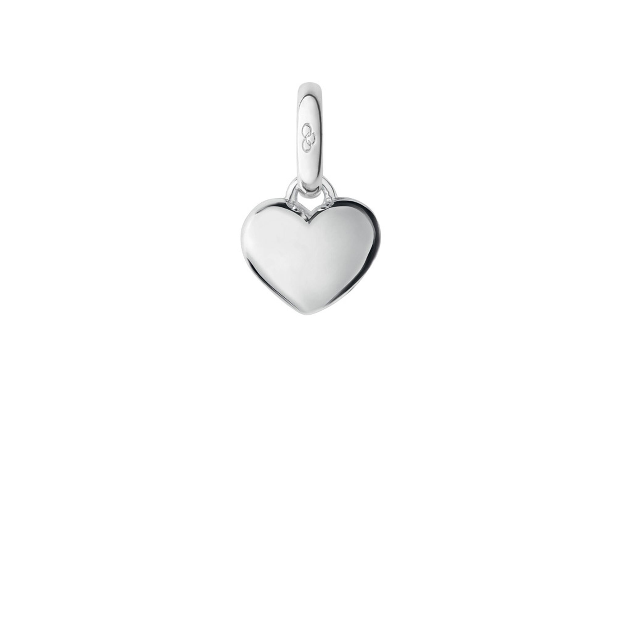 mini itm delicate pave ebay jewelry micro heart necklace