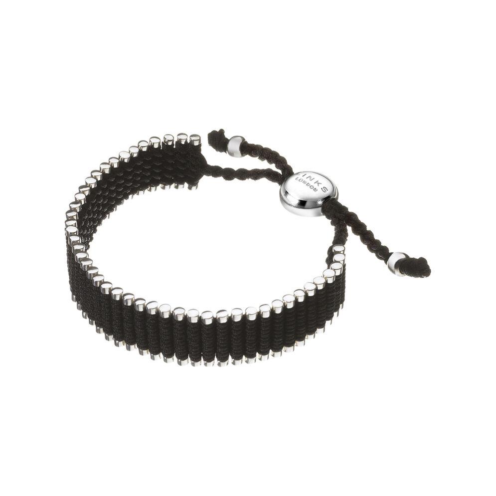 Black Friendship Bracelet, , hires
