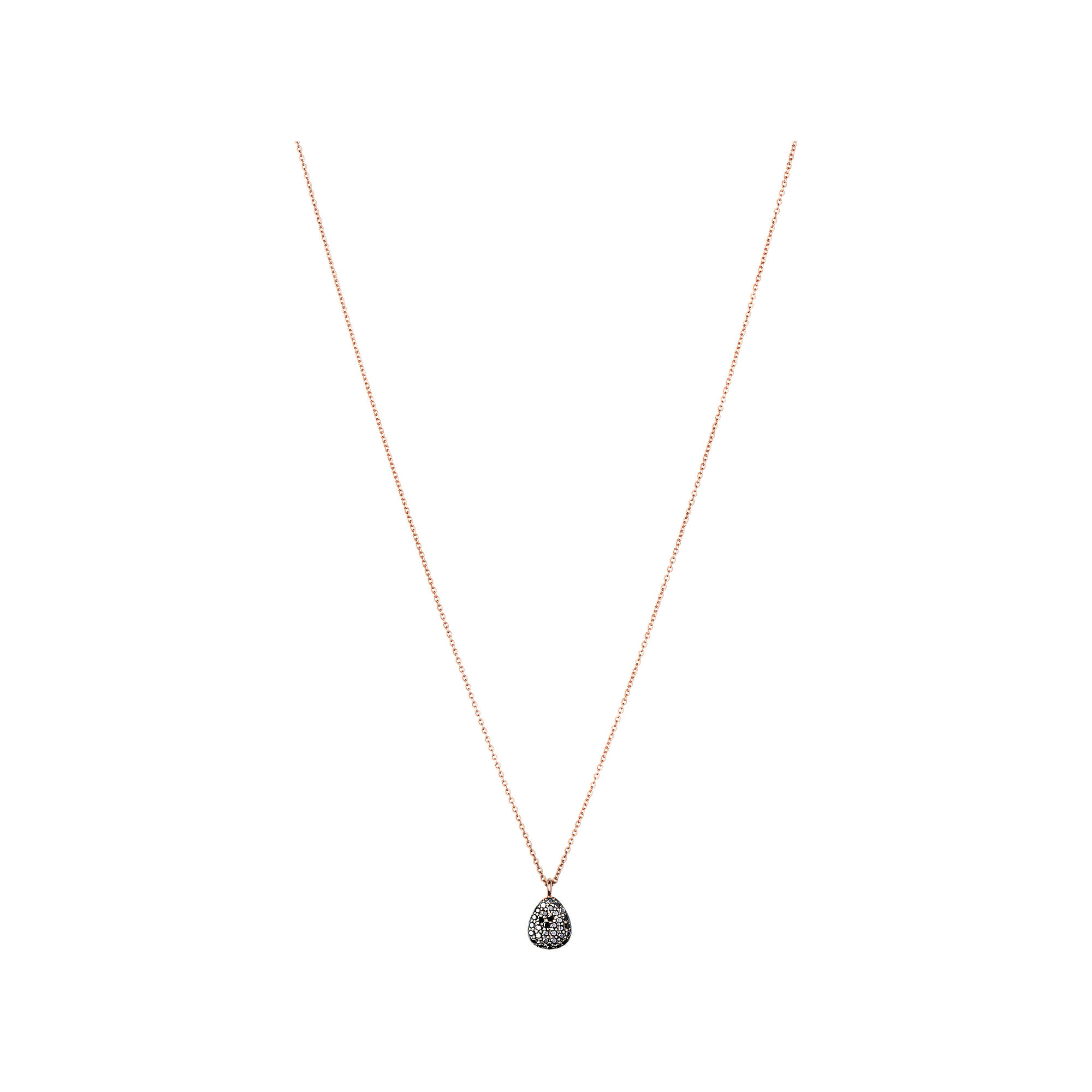 joy rebecca products dana pendant diamond mini necklace stone black and strand lauren still
