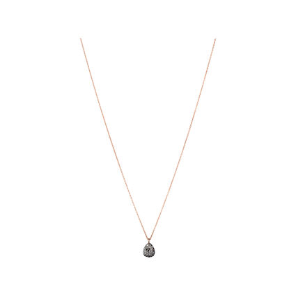 Hope 18K Rose Gold & Black Diamond Necklace, , hires