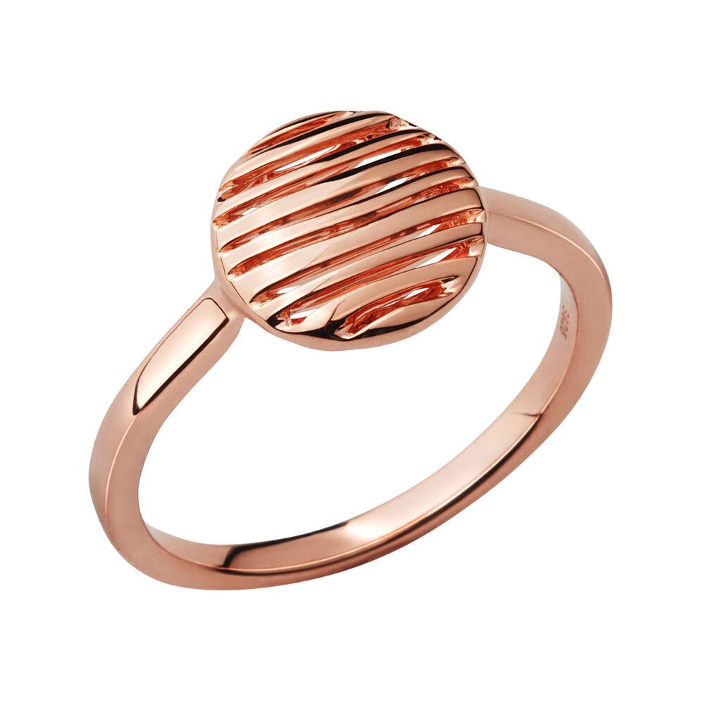 Thames 18kt Rose Gold Vermeil Ring, , hires