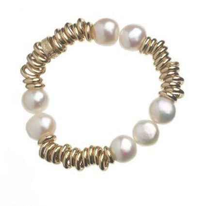 Sweetie 18Ct Rolled Gold With Freshwater Pearl, , hires