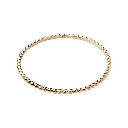 Effervescence Essentials Yellow Gold Bangle, , hires