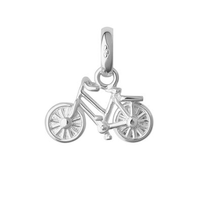 Sterling Silver Bike Charm, , hires