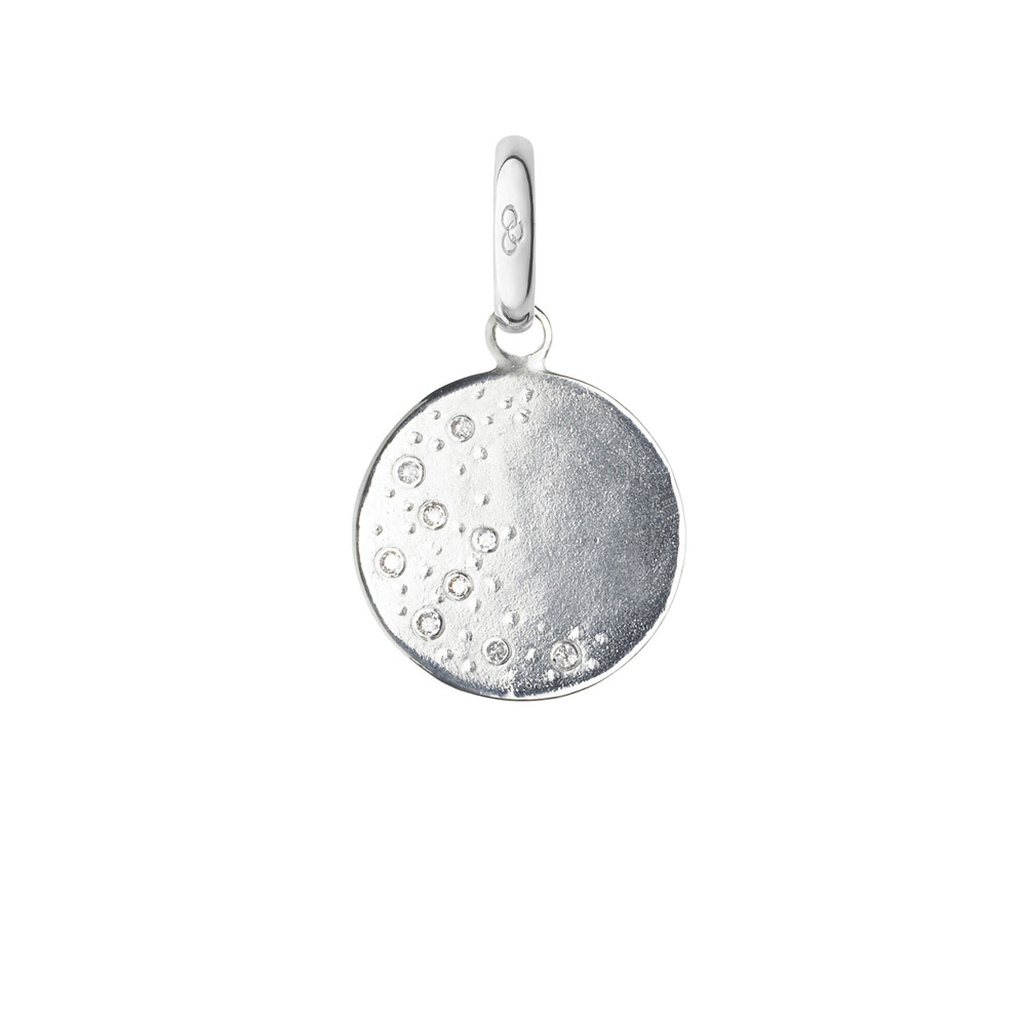 Watch over me silver diamond moon charm links of london links watch over me sterling silver amp diamond moon charm hires aloadofball Image collections