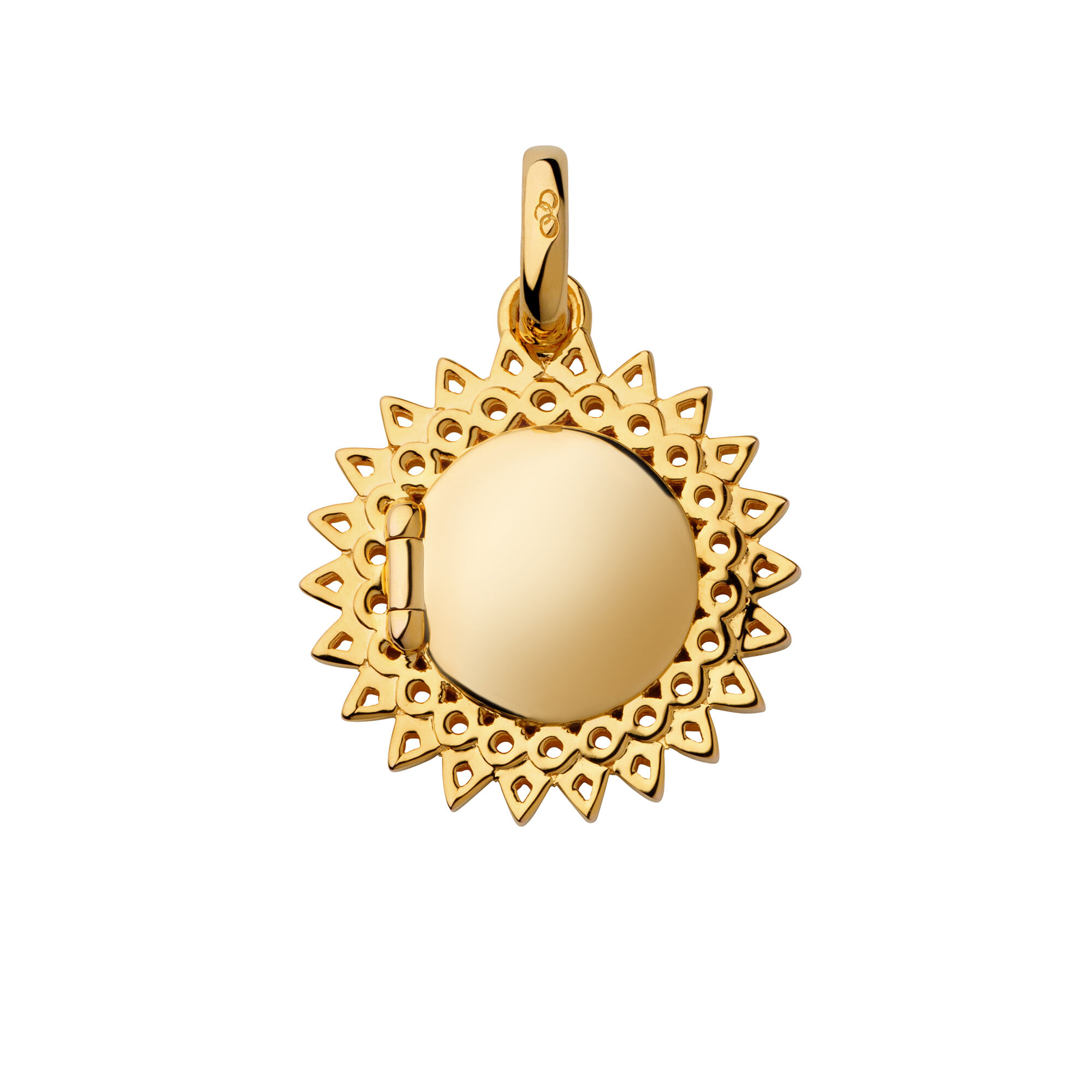 locket gold crt pendant golden carat en