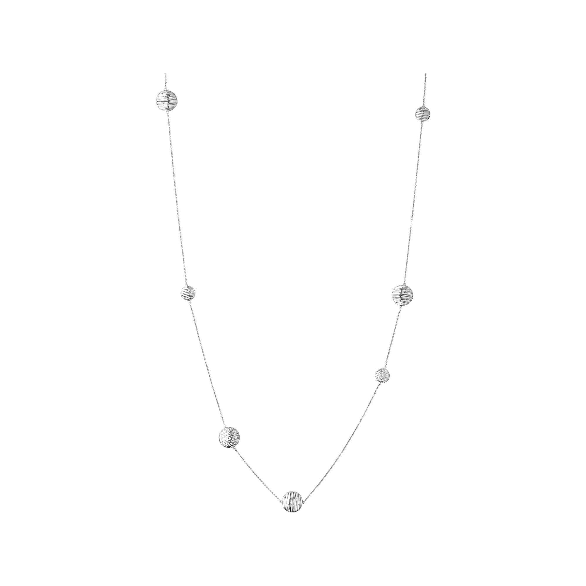 station itm with flower in sterling multi natural silver necklace gems