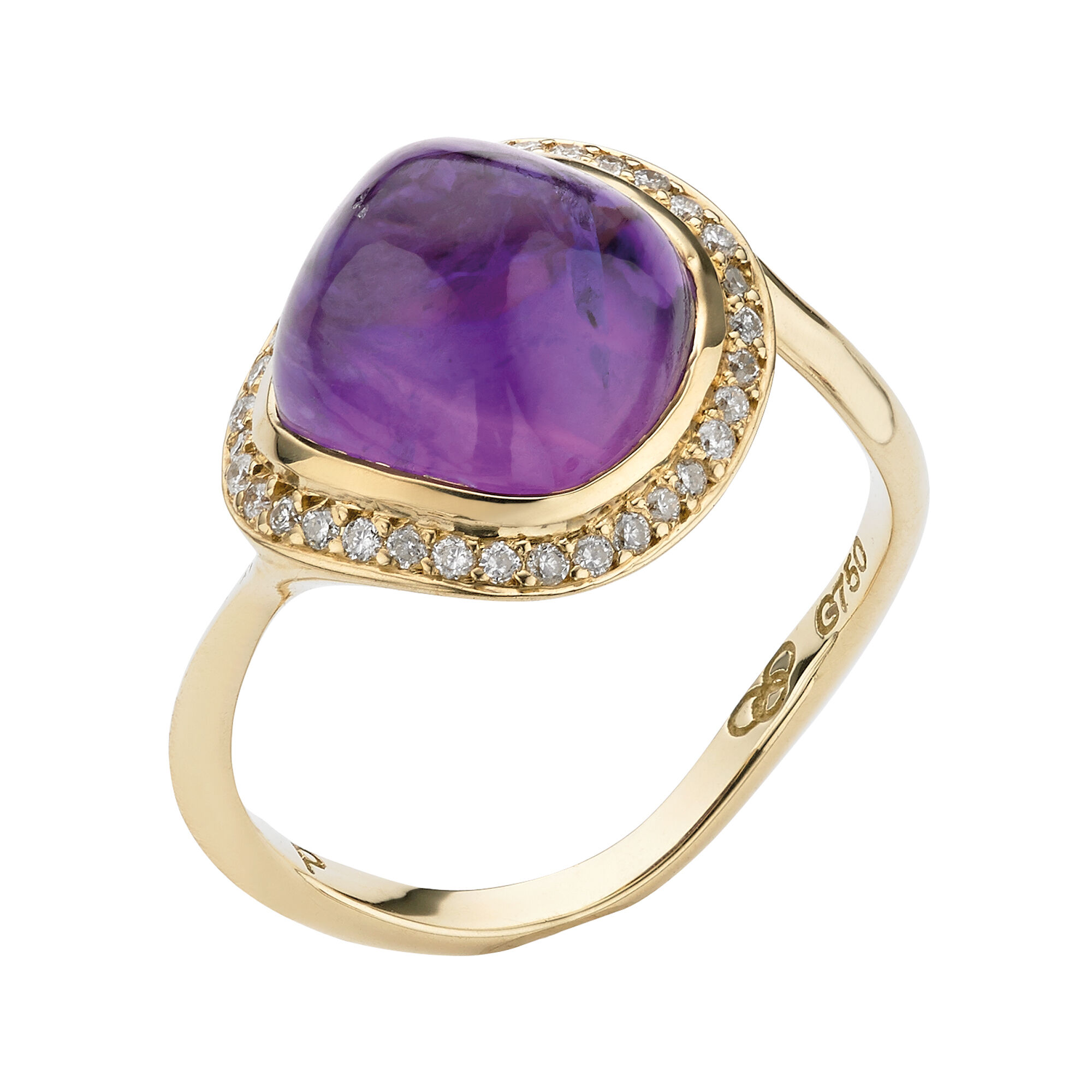 products rings princess gold february filled amethist diana amethyst inspired white ring birthstone engagement img