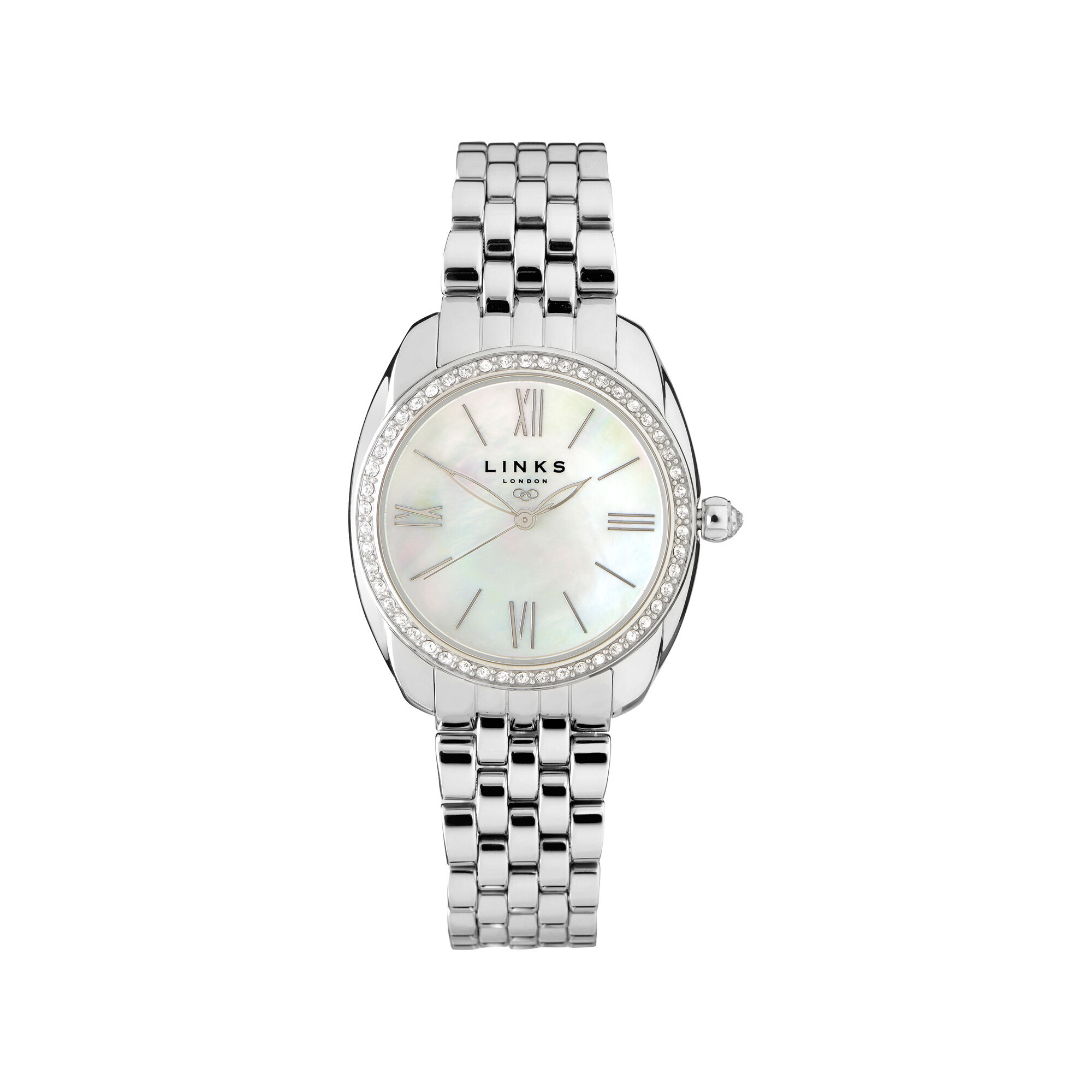 watch watches rotary bracelet birth home year silver solid ladies dsc product