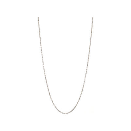 Essentials Sterling Silver Mini Belcher Chain 61cm, , hires