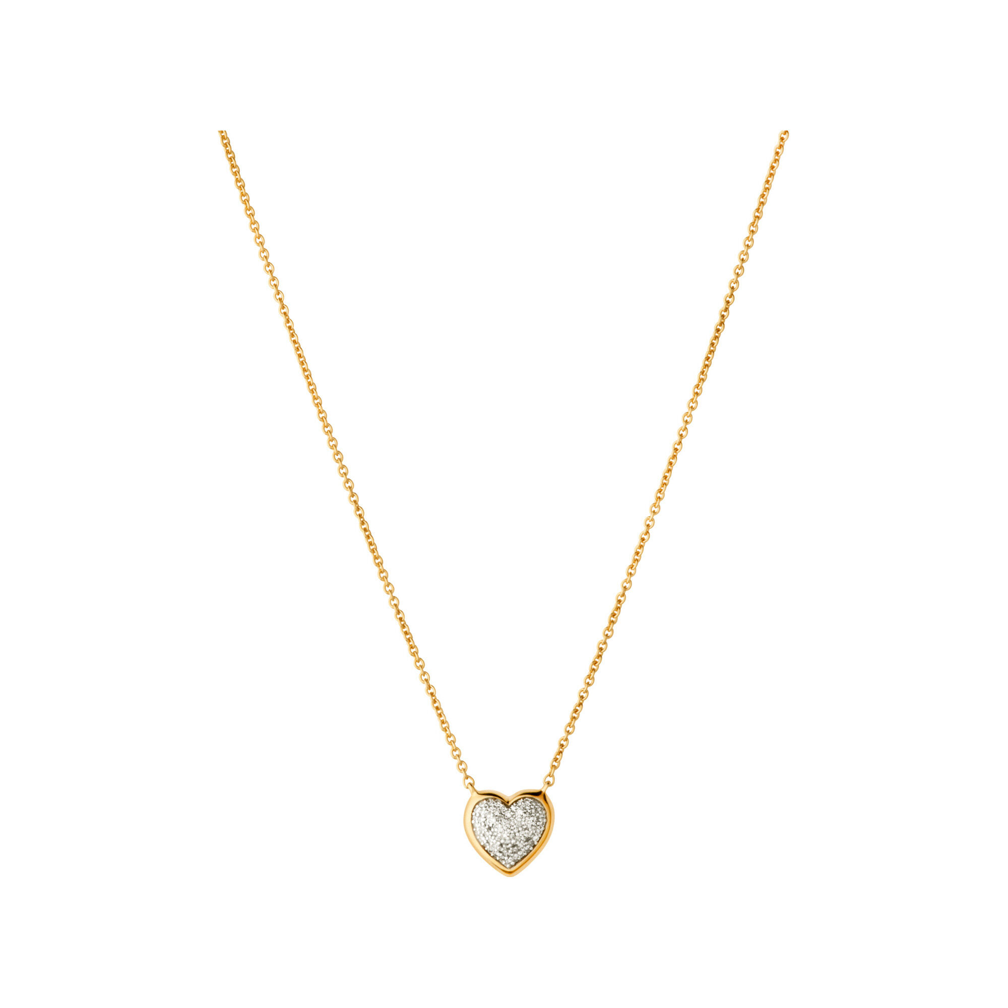 gold product necklace new heart a jewellery solid w