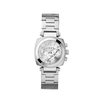 Brompton Womens Stainless Steel Chronograph Bracelet Watch, , hires