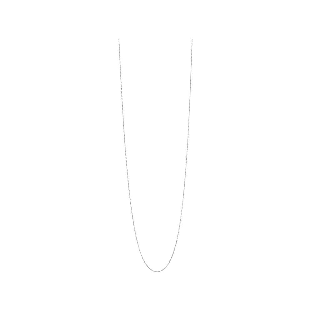 Essentials Sterling Silver 1.2mm Cable Chain 80cm, , hires
