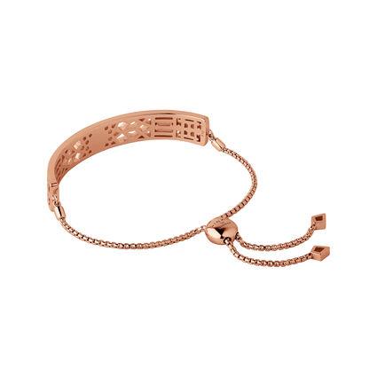 Timeless 18kt Rose Gold Vermeil Toggle Bracelet, , hires