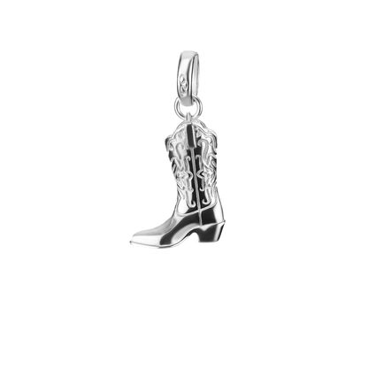 Sterling Silver Boot Charm, , hires