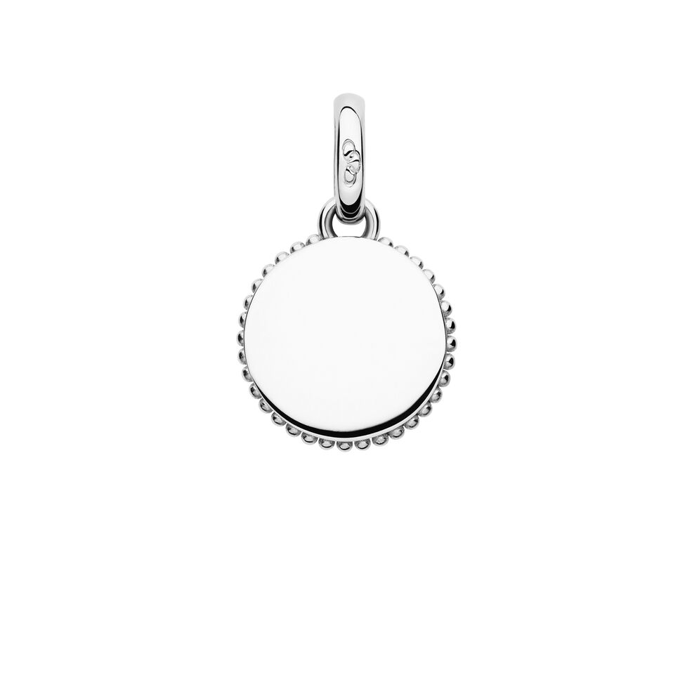 Narrative Sterling Silver Mini Disc Charm, , hires