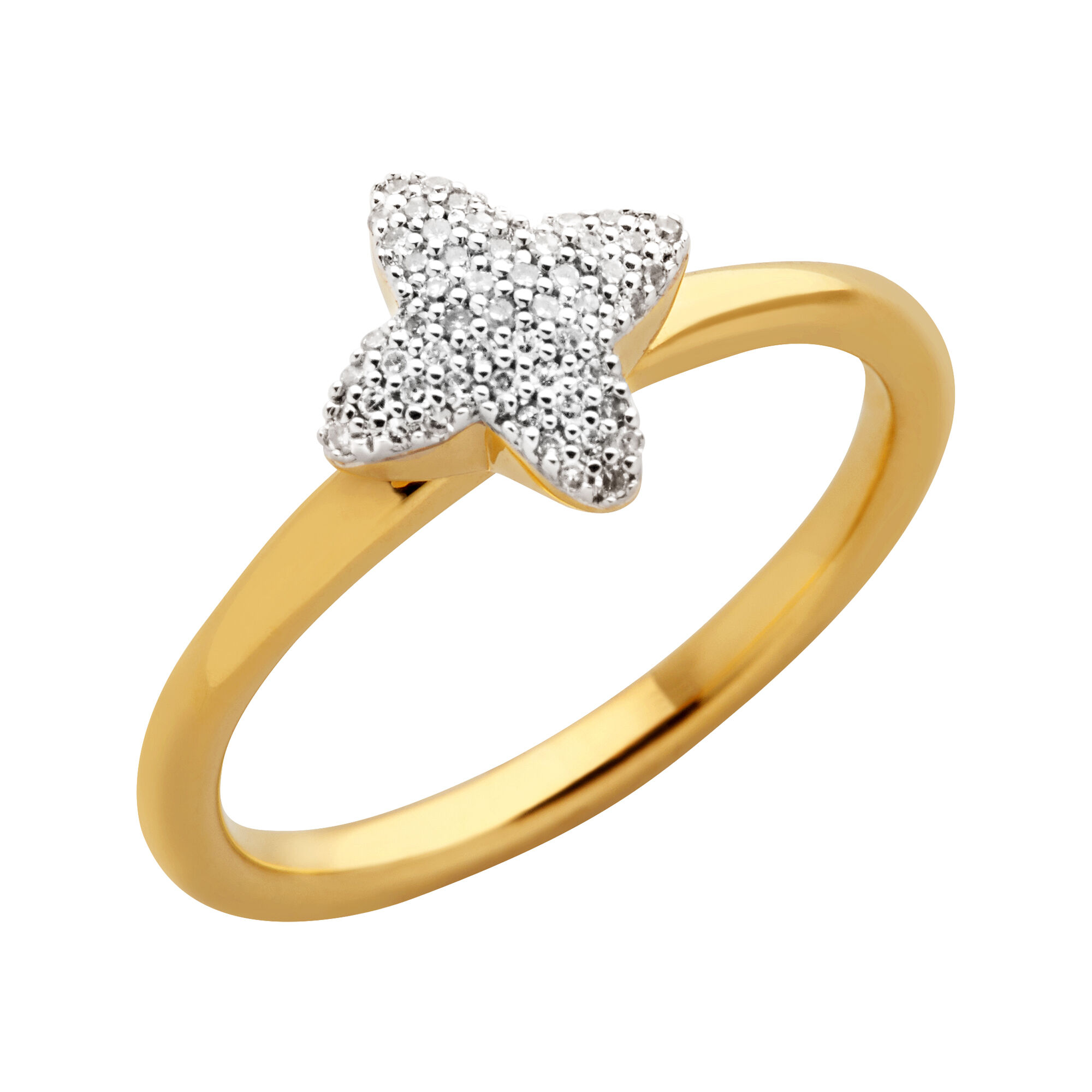 ring for women engagement rings gold jewellery white diamond