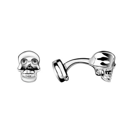 Sterling Silver Skull Cufflinks, , hires