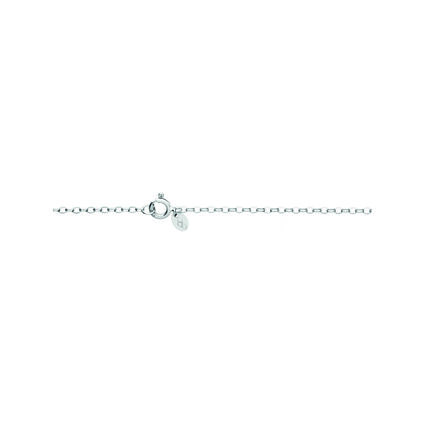 Timeless Sterling Silver Large Arch Necklace, , hires
