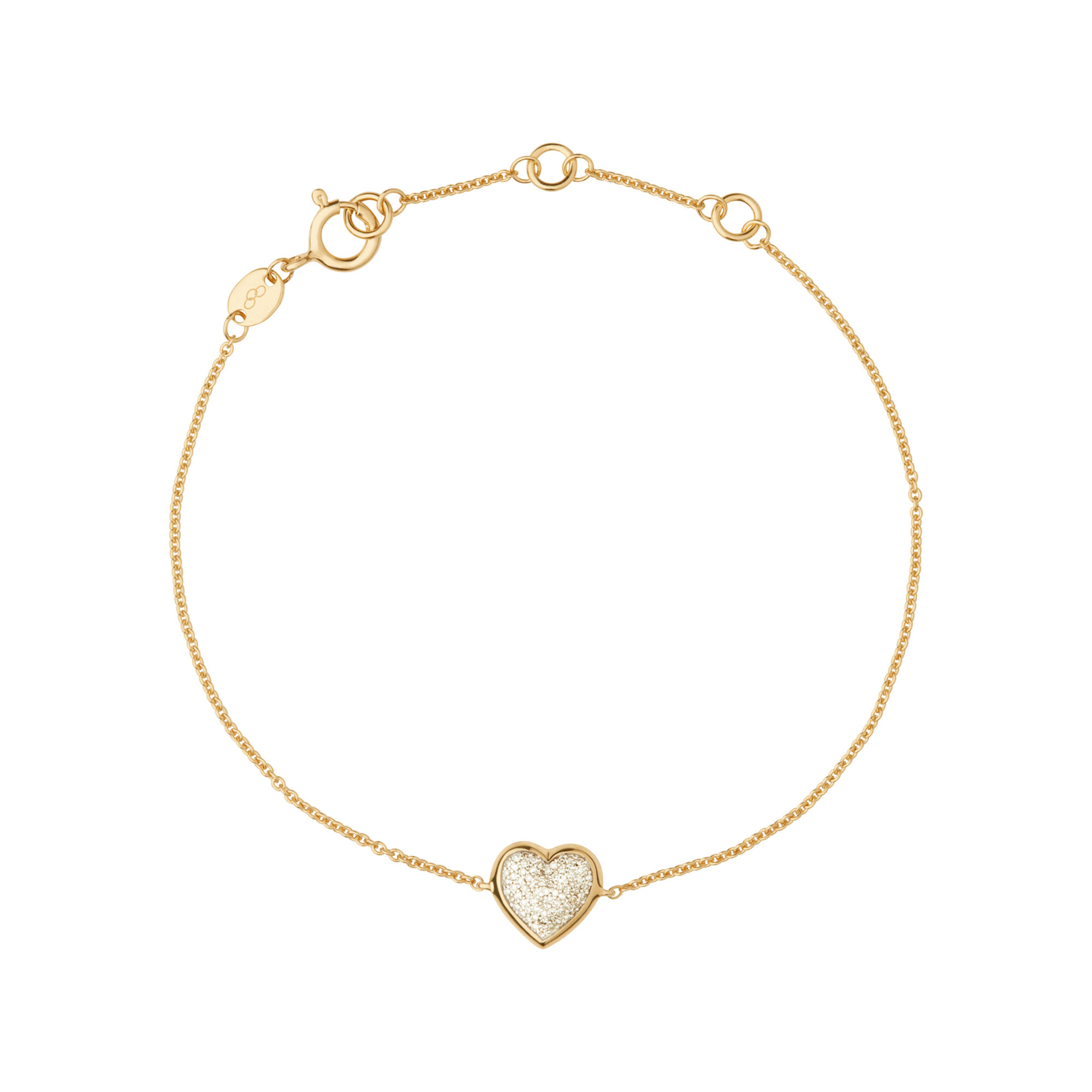 yellow and pave hires diamond gold essentials london of vermeil gb heart amp bracelet en links
