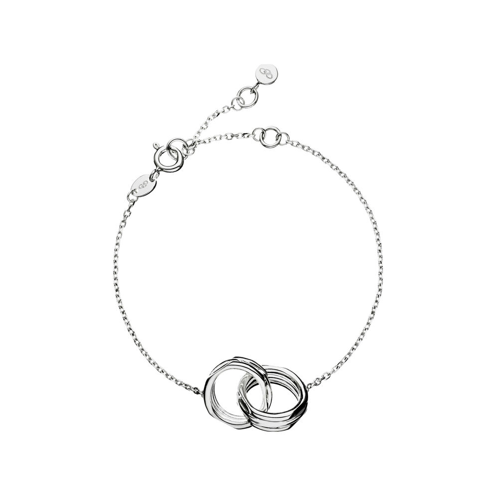 20/20 Sterling Silver Interlocking Bracelet, , hires