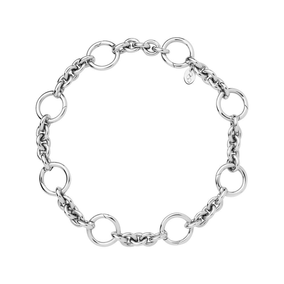 Sterling Silver Capture Charm Bracelet, , hires