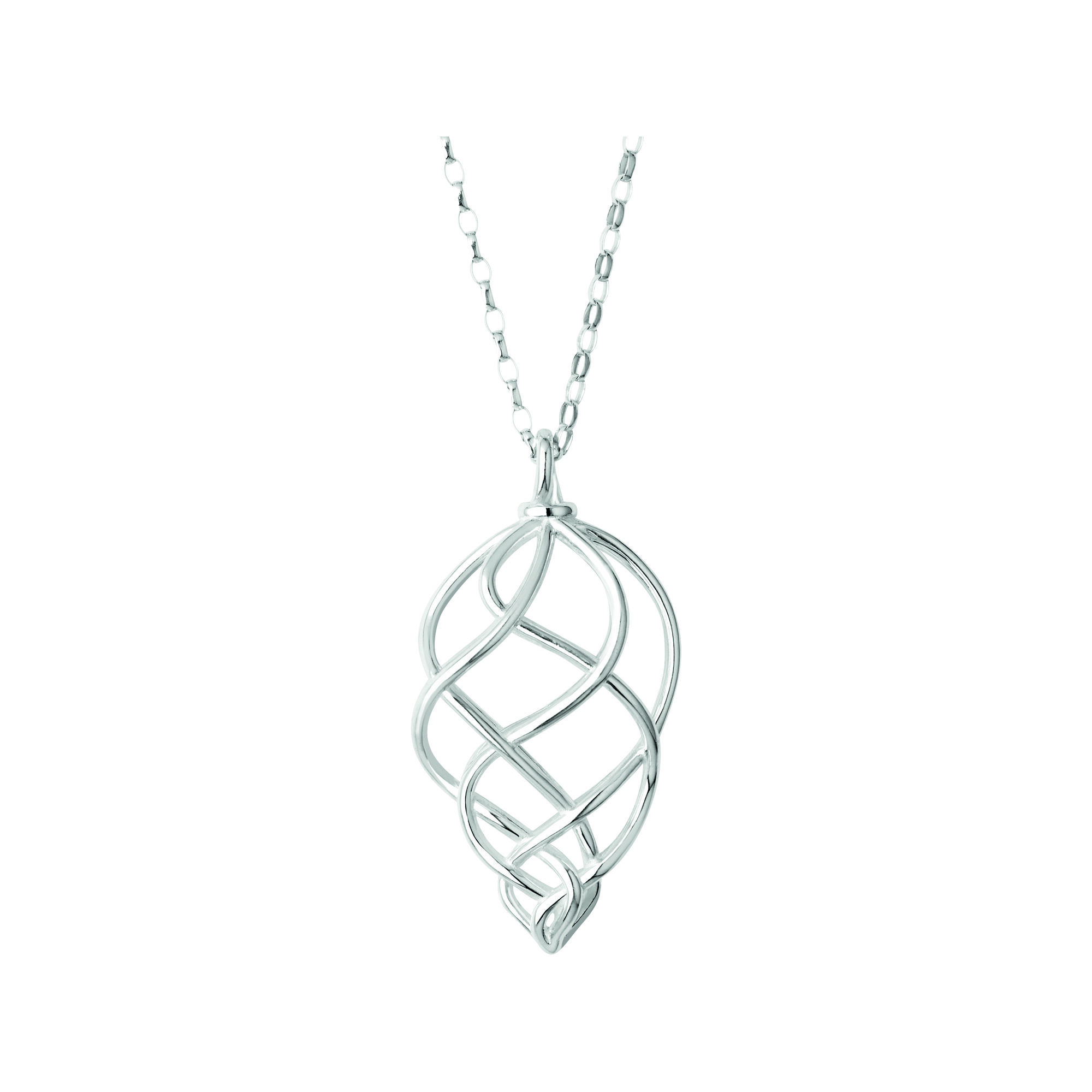 oval necklace jewelry david link ceramic yurman enlarged large necklaces chain products