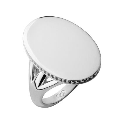 Narrative Oval Ring, , hires