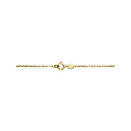 18K Yellow Gold & Diamond Timeless Arch Necklace, , hires