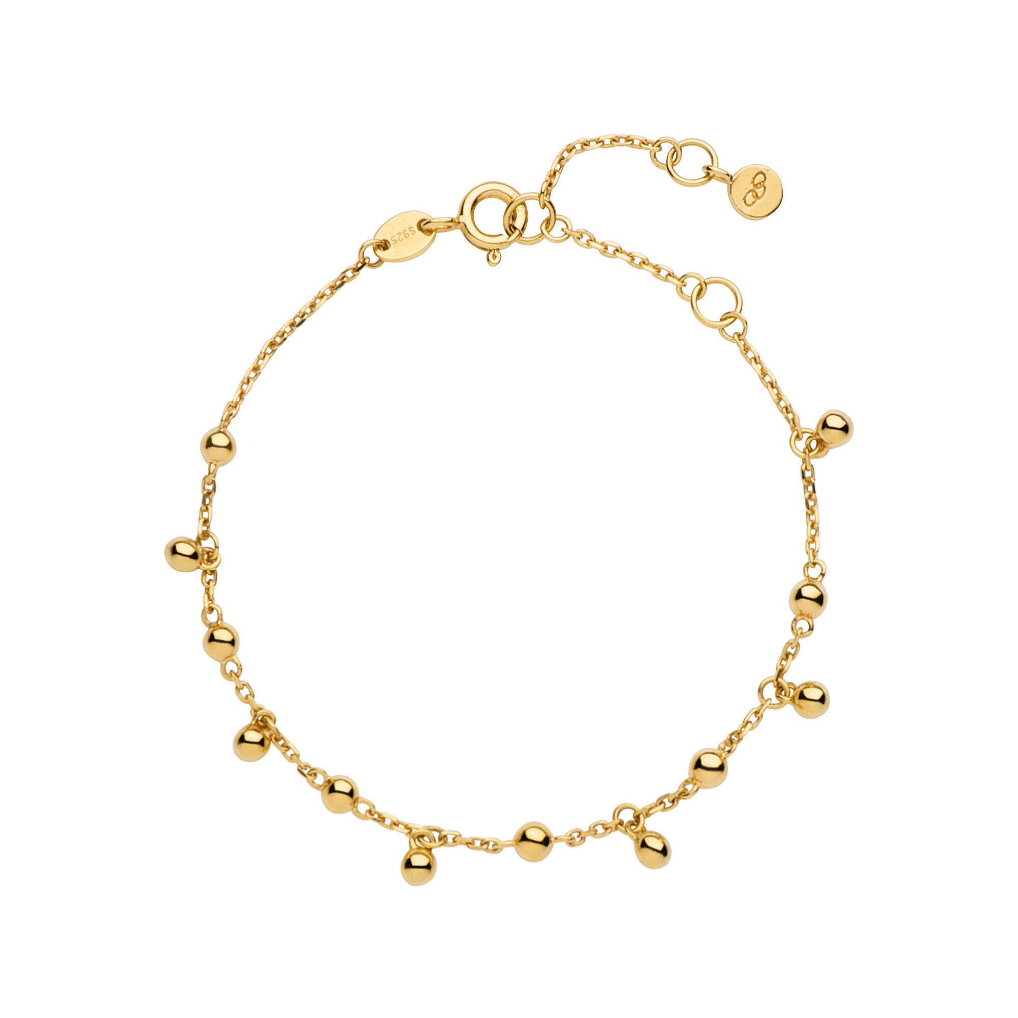 save mother bracelet fullscreen metallic detail gold garrard anklet wing of lyst jewelry pearl view in diamond