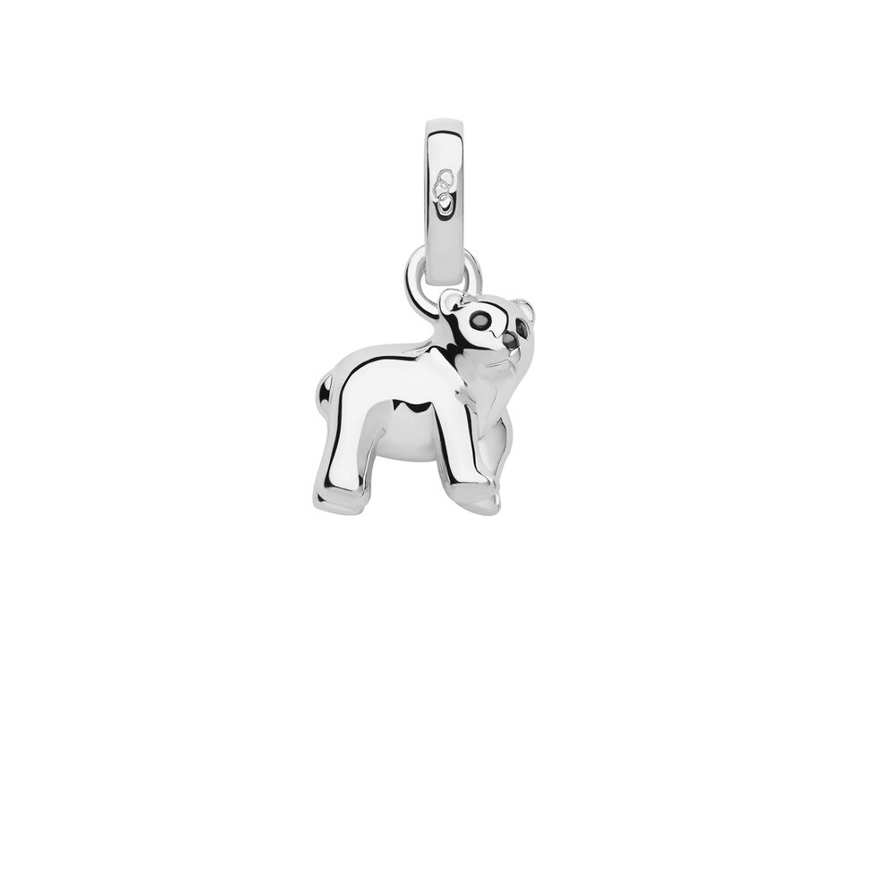 Sterling Silver Polar Bear Charm, , hires