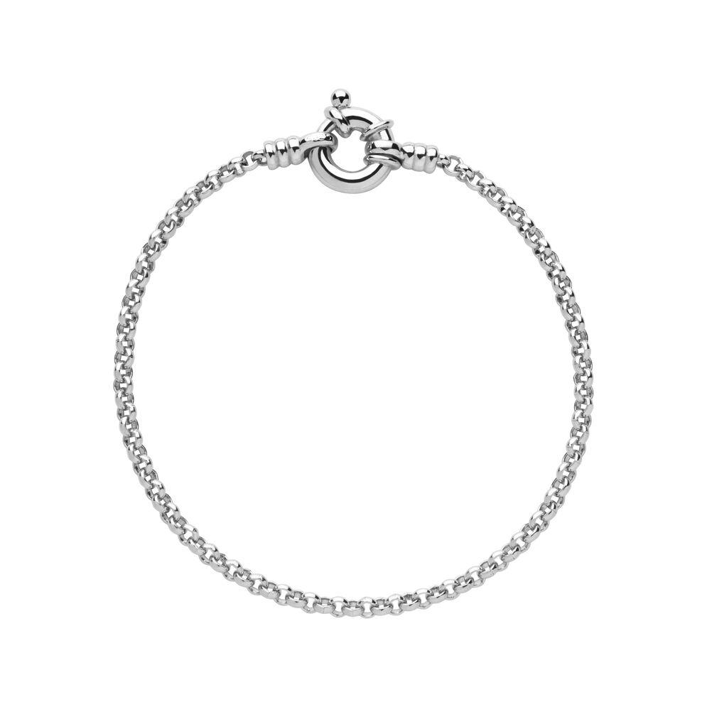 Sterling Silver Mini Belcher Bracelet, , hires