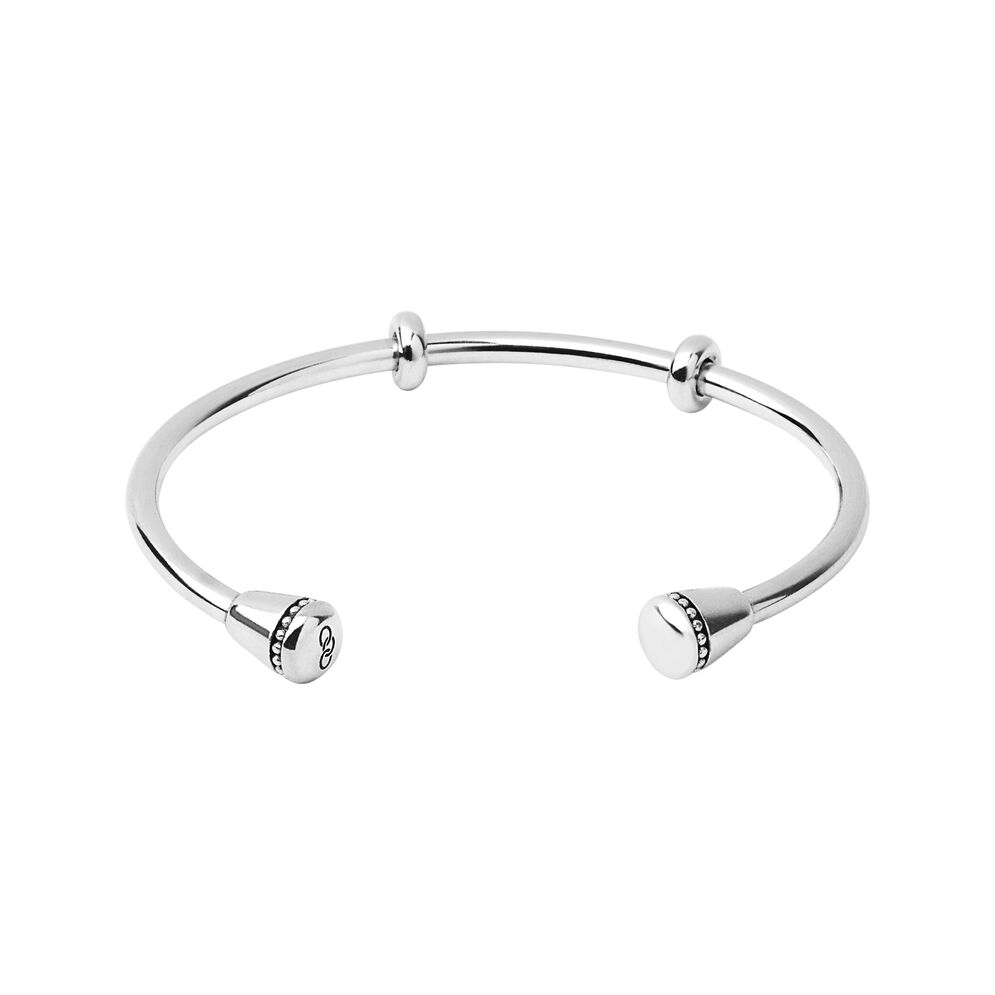 Amulet Sterling Silver Charm Cuff, , hires
