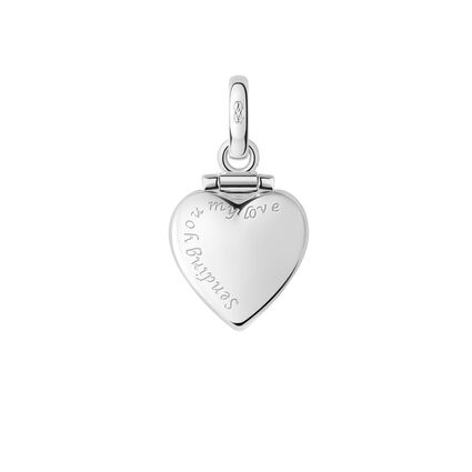 Sterling Silver Sending You My Love Charm, , hires