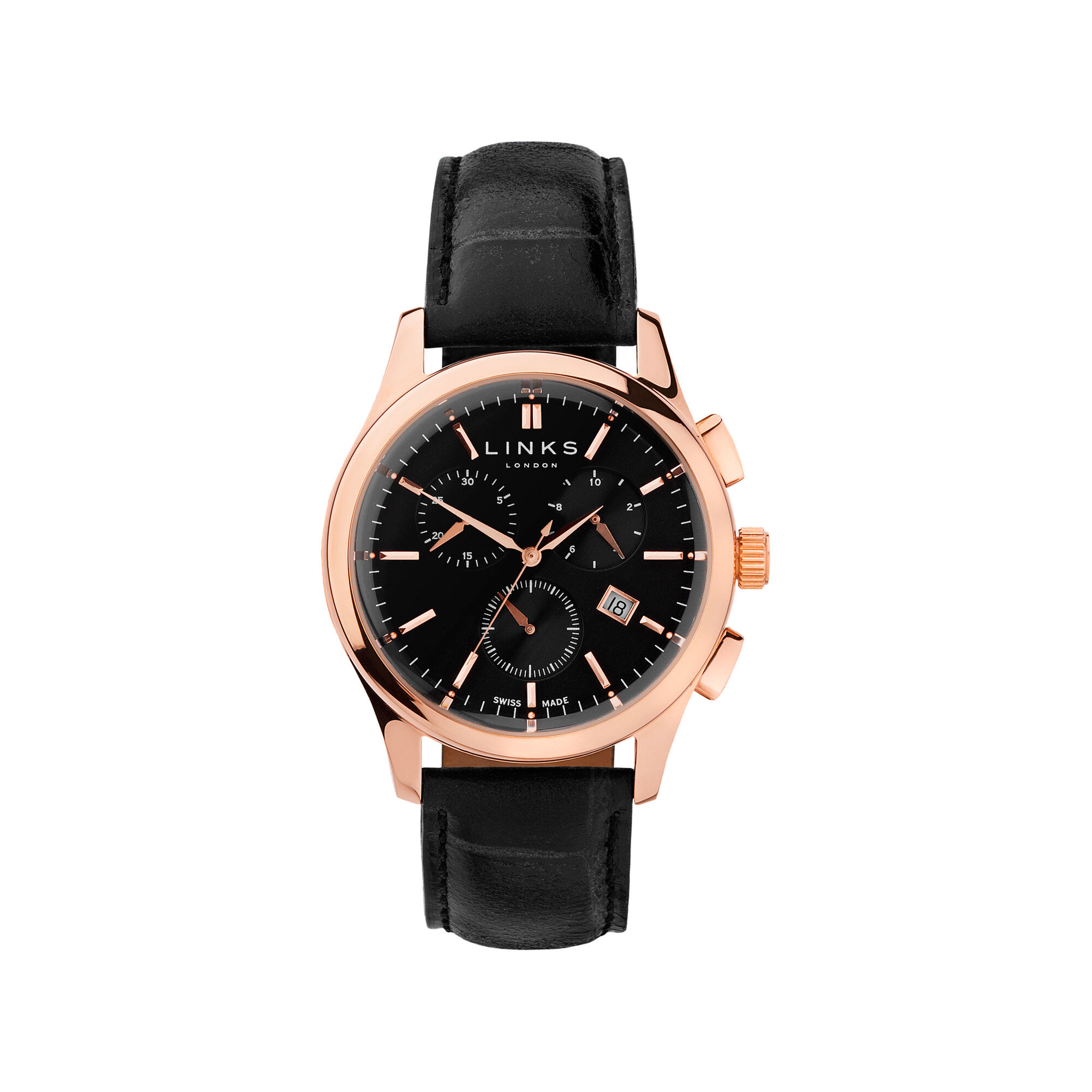 en watches birks watch nodiamonds muse black musewatch leather