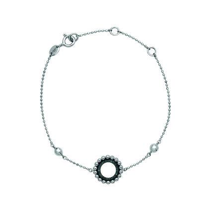 Effervescence Sterling Silver & Blue Diamond Bracelet, , hires