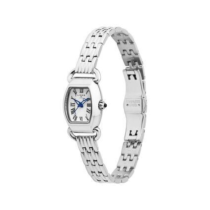 Driver Mini Tonneau Stainless Steel Bracelet Watch, , hires