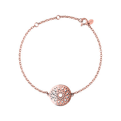 Timeless 18kt Rose Gold Vermeil Bracelet, , hires