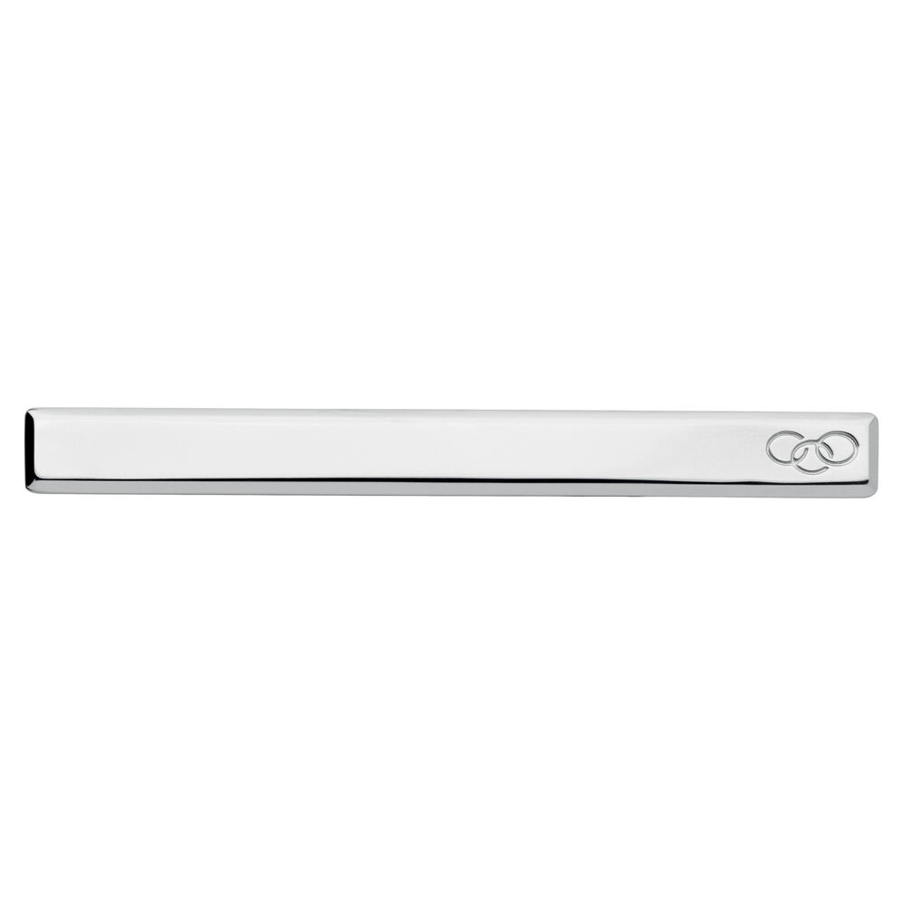 Sterling Silver Tie Bar, , hires