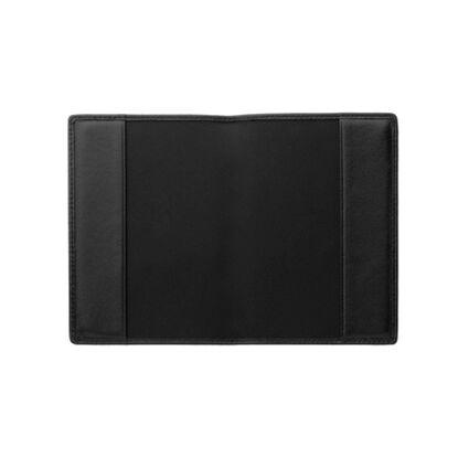 Black Leather Passport Holder, , hires