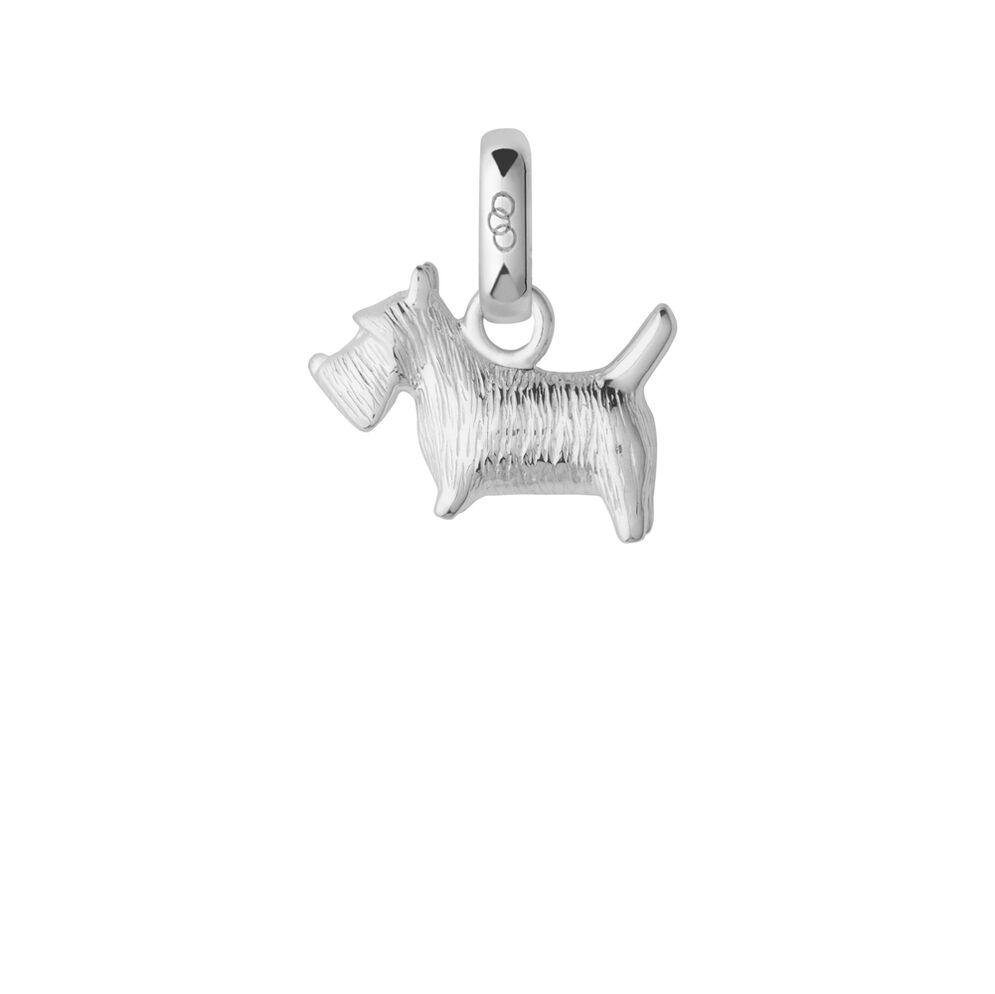 Sterling Silver Scottish Terrier Charm, , hires