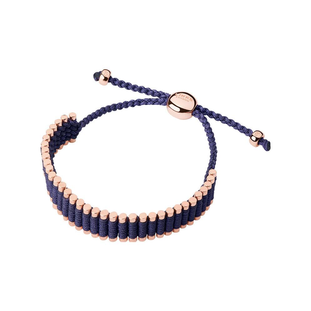 18kt Rose Gold Vermeil Deep Purple Friendship Bracelet, , hires