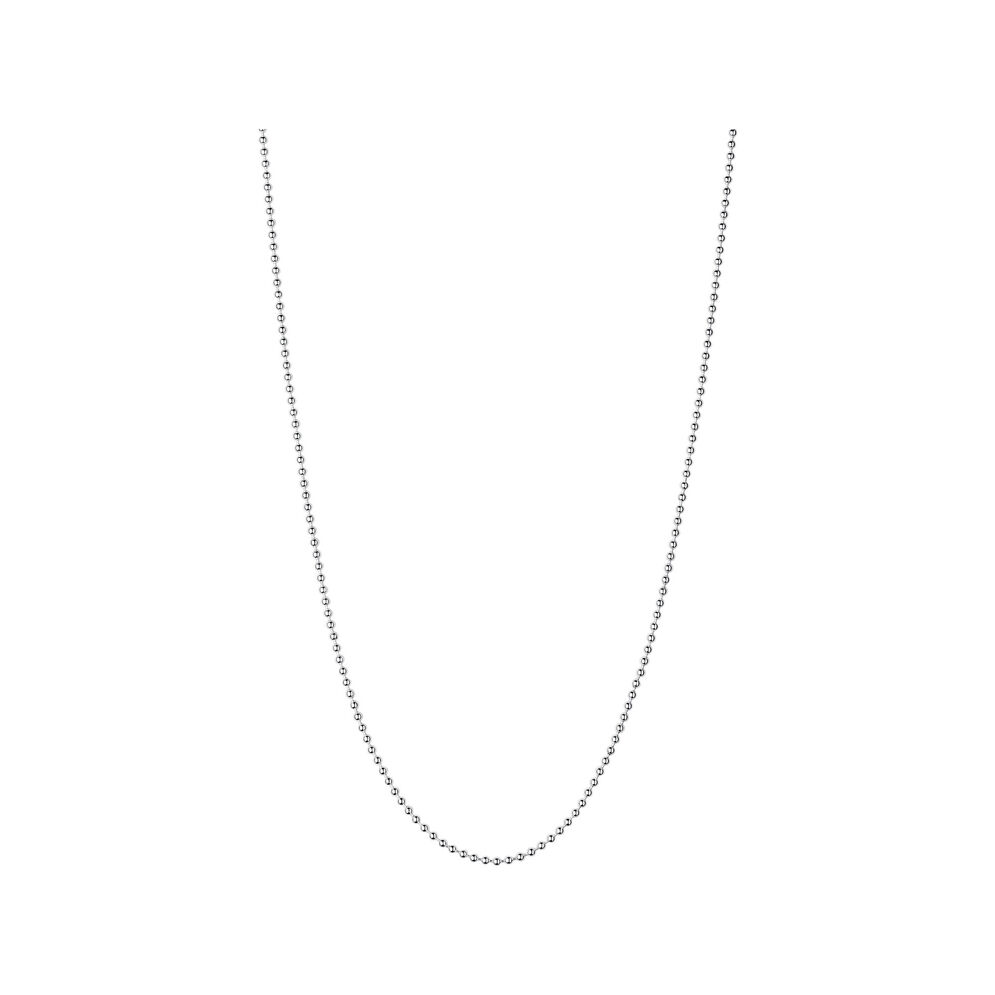 Essentials Sterling Silver 2.5mm Ball Chain 50cm, , hires