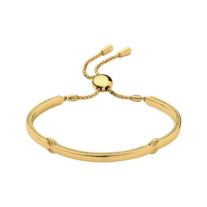 Narrative Bracelet 18K Yellow Gold Vermeil, , hires