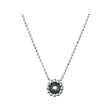 Effervescence Blue Diamond Necklace, , hires